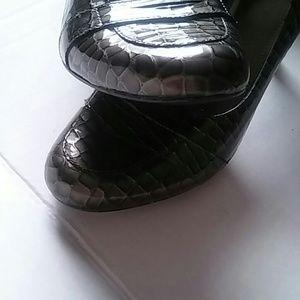 Alex Marie Shoes - Alex Marie crocodile Shoes Heels sz 8.5 M